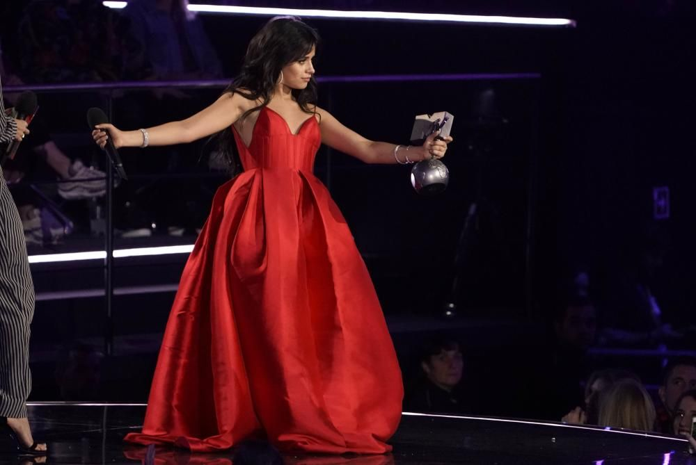 Singer Camila Cabello receives the Best Song ...