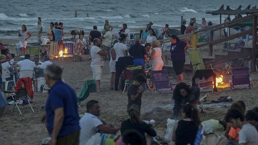 Elche cerrará sus playas la noche de San Juan para evitar aglomeraciones y fiestas
