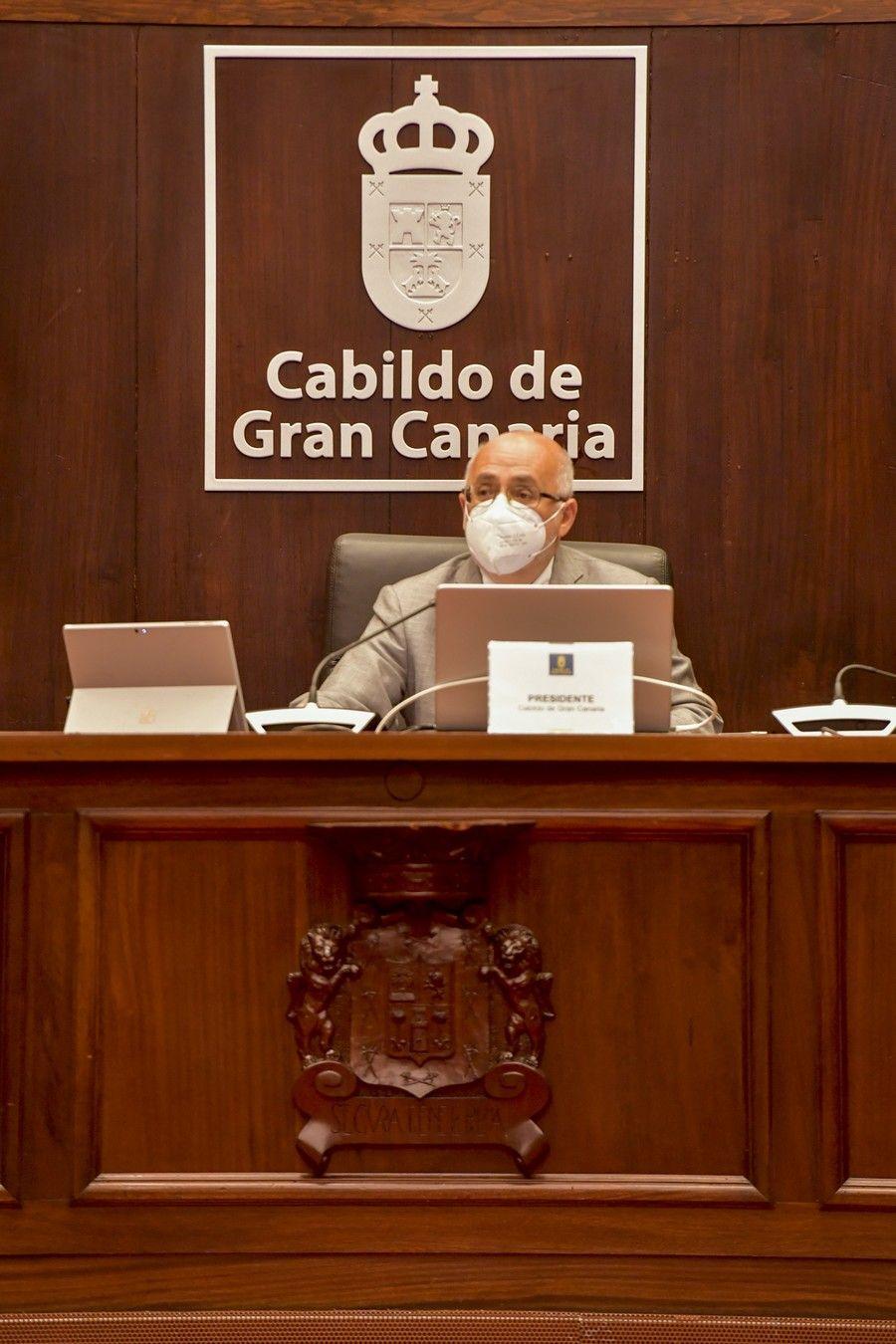 Pleno del Cabildo grancanario (05/07/2021)