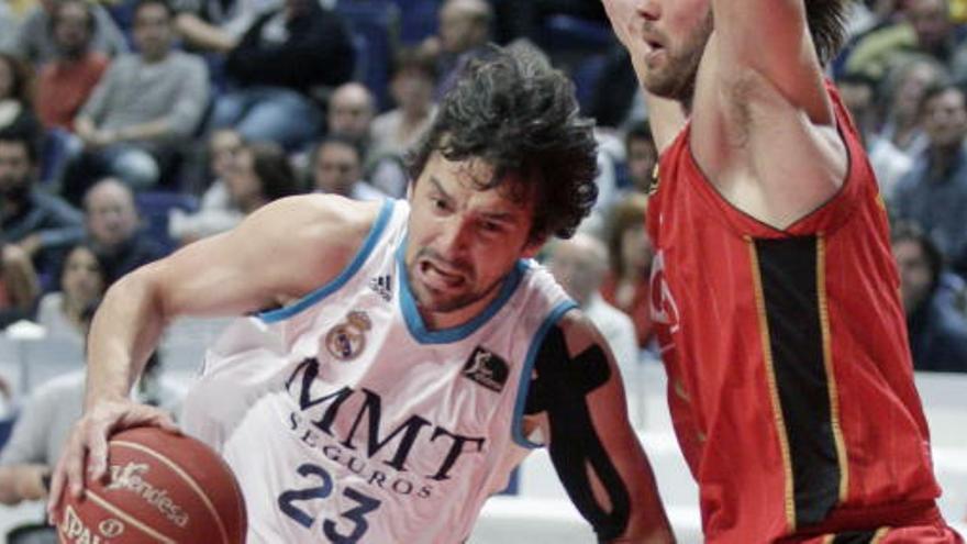 El Madrid arrasa al CAI Zaragoza