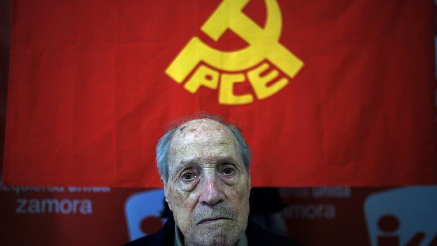 Fallece Amable García, histórico militante del Partido Comunista y de IU en Zamora