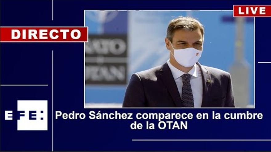 Directo | Rueda de prensa de Pedro Sánchez desde la cumbre de la OTAN