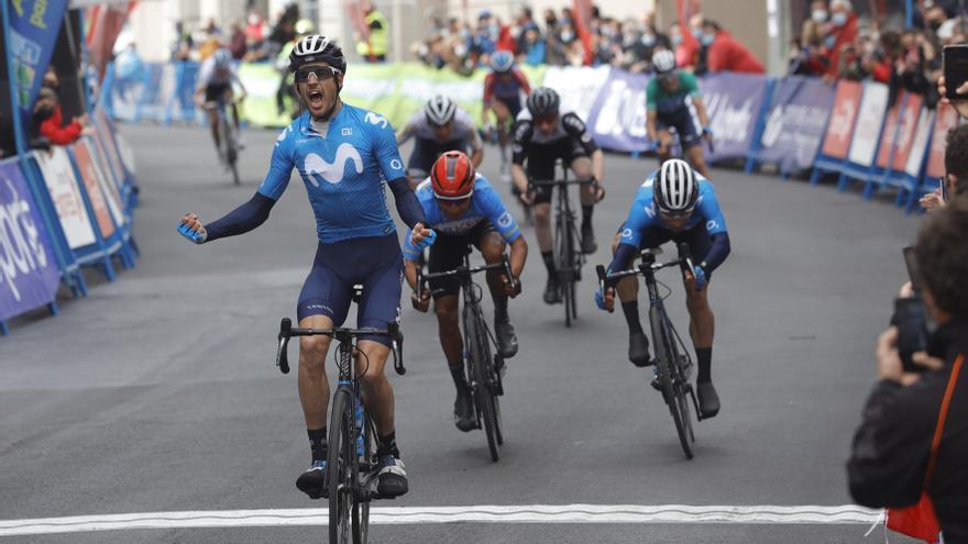 Estreno feliz de Carretero en la segunda etapa de la Vuelta a Asturias