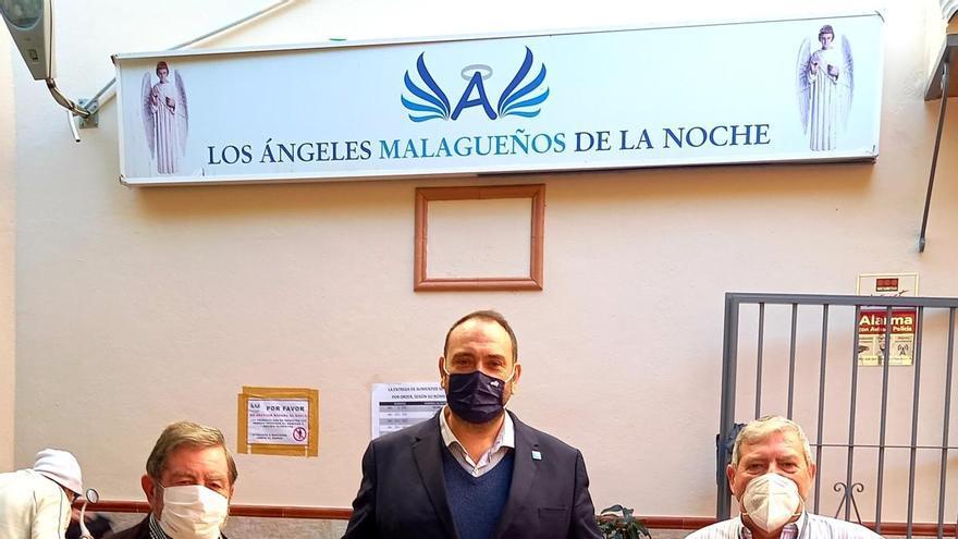 La Fundación CLC World dona el coste de 2.000 tortillas para Los Ángeles Malagueños de la Noche
