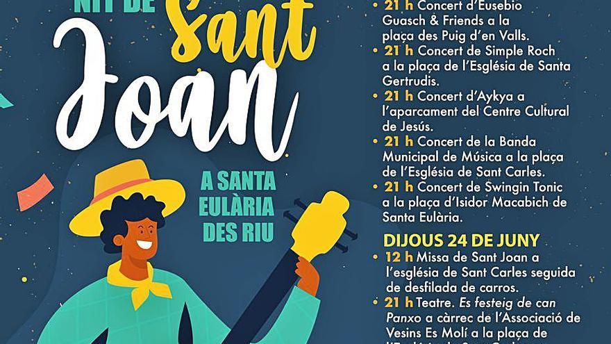 Santa Eulària celebra Sant Joan con conciertos en todos sus pueblos