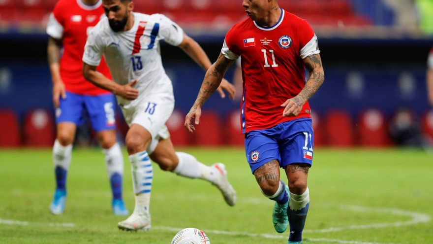Paraguay derrota a una desgastada Chile y pasa a cuartos