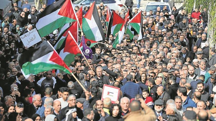 Los palestinos rompen «toda relación» con Israel y EEUU