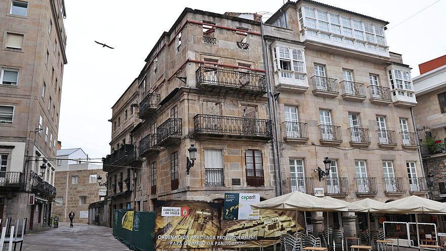 El Casco Vello de Vigo acelera su recuperación: este será el próximo edificio histórico que recuperará