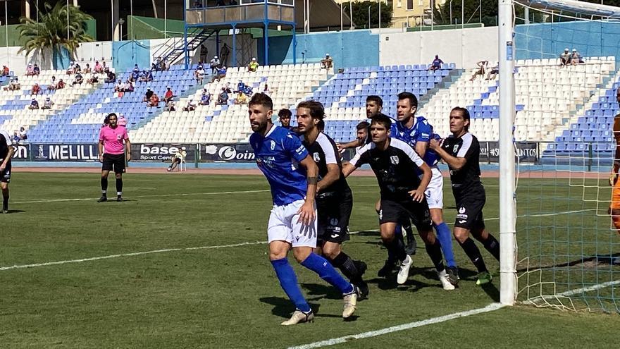 El Mar Menor gana con remontada al Melilla (2-3)
