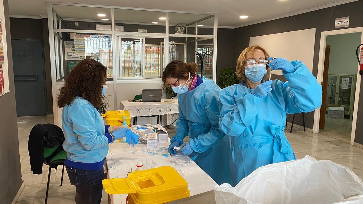 En la zona sur de la provincia hay 12 puntos de vacunación habilitados.