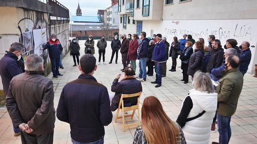 La gratuidad del párking compensará el recorte de plazas en la calle Monte Faro