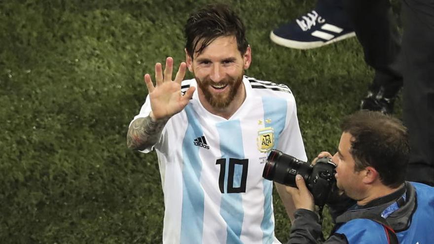 Messi regresa a la selección para jugar ante Venezuela y Marruecos
