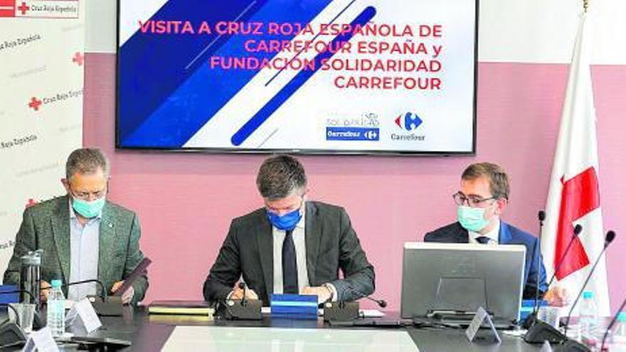 Carrefour y Cruz Roja, juntos por la integración social