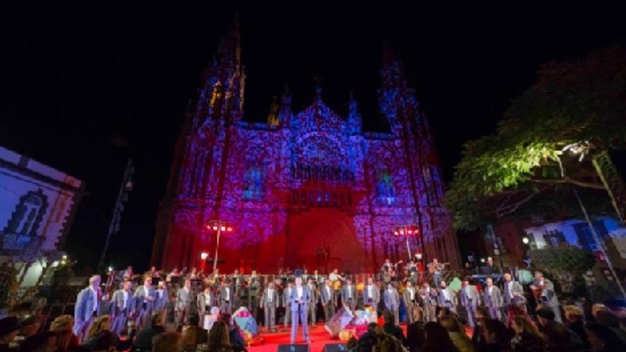 50 Granjeros Concierto celebración Día de Canarias