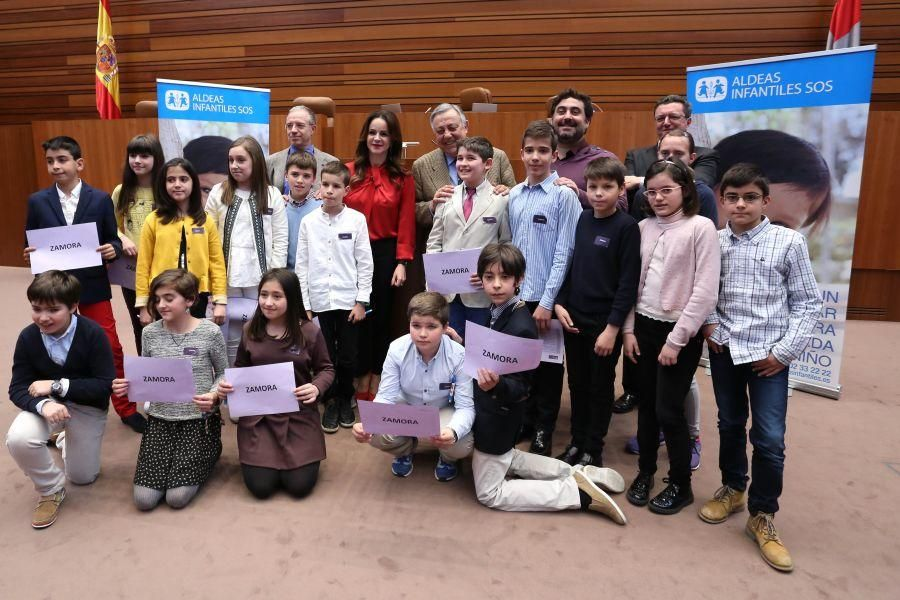 Escolares de Castilla y León en Las Cortes