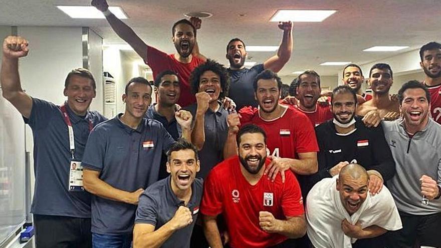 Otro asturiano en la lucha por las medallas: Cartón, a dar la sorpresa con Egipto
