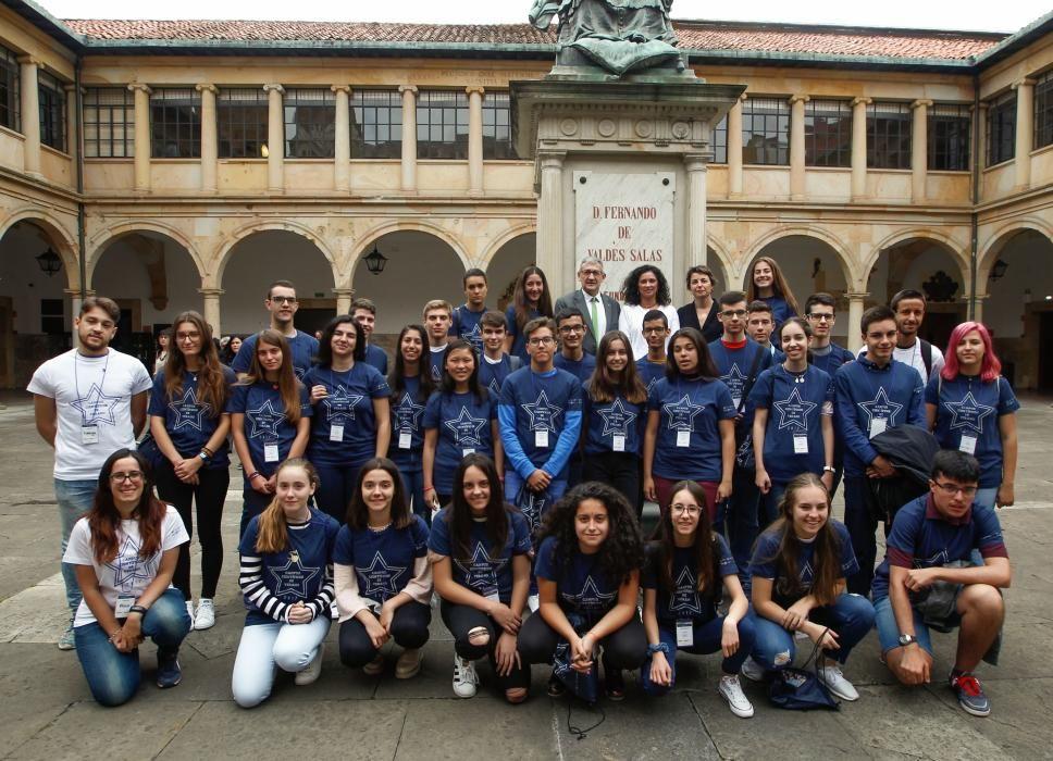 Recepción a los alumnos del Campus Científico