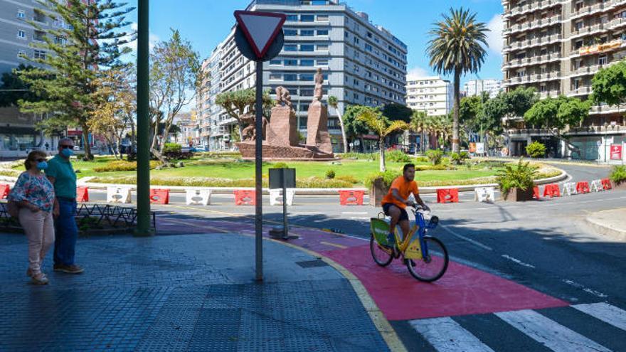 Urbanismo remata los carriles bici transversales que conectarán toda la red