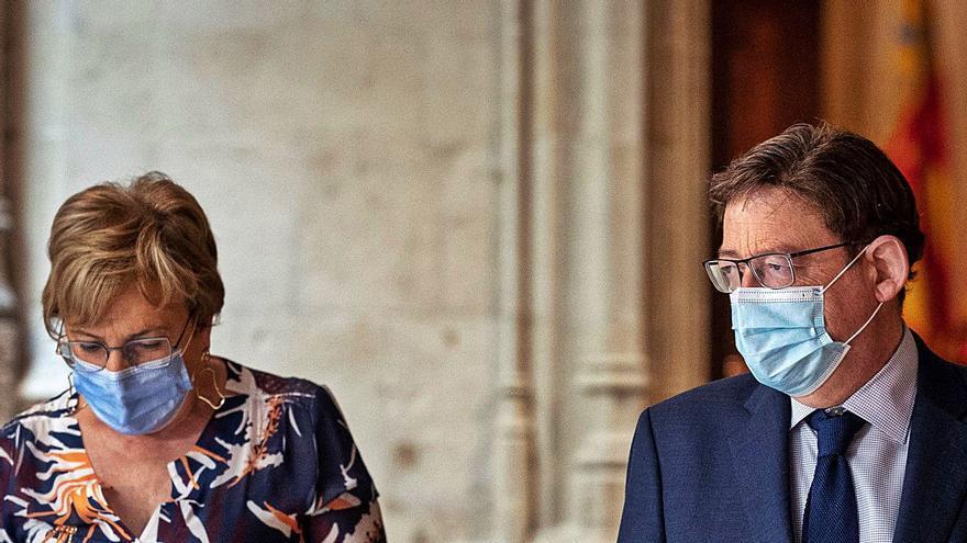 Puig aprieta a sus socios con la empresa pública sanitaria: «Hay que tomar decisiones»