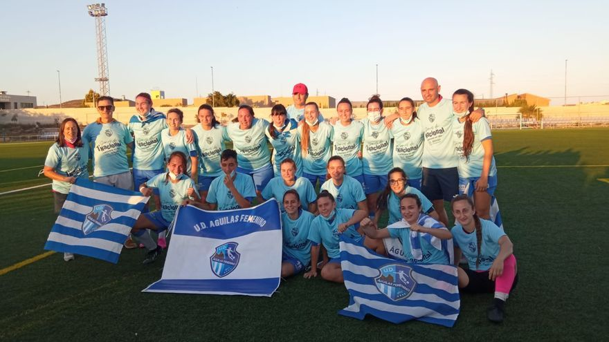 El Águilas Femenino logra el ascenso a Primera Nacional