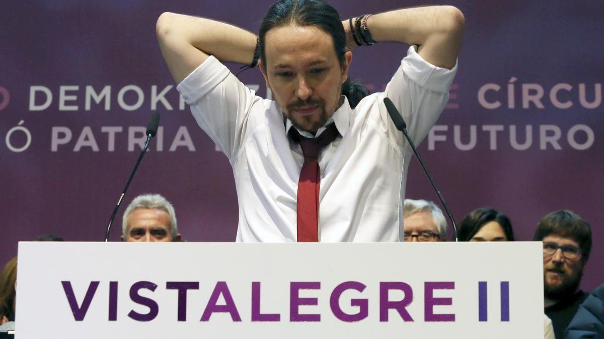 Una imagen de Pablo Iglesias.