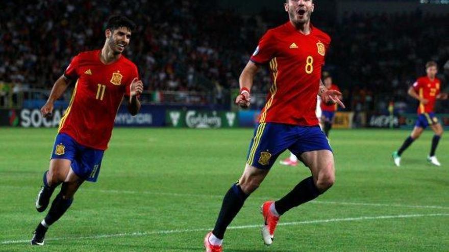 Saúl classifica Espanya per a la final amb un hat-trick en 21 minuts a l'Europeu sub-21