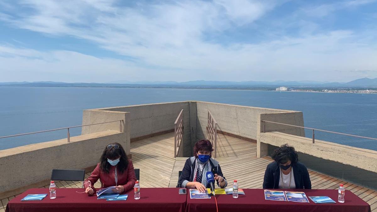 Mindan amb les dues regidores de Turisme