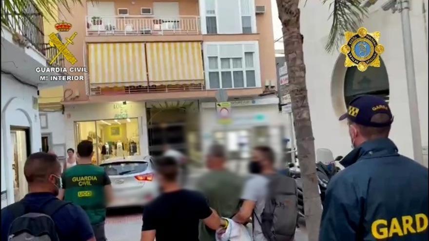 'El monje' llevaba documentación falsa cuando fue detenido en Fuengirola