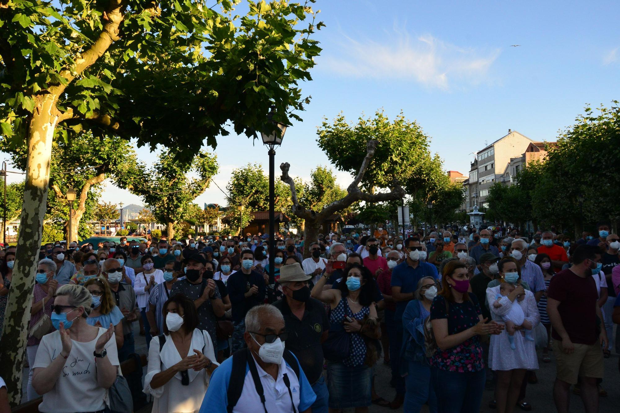 Marcha por la sanidad pública en Cangas