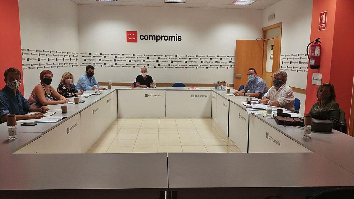 Encuentro  Compromís y UGT 'sintonizan' sobre el teletrabajo
