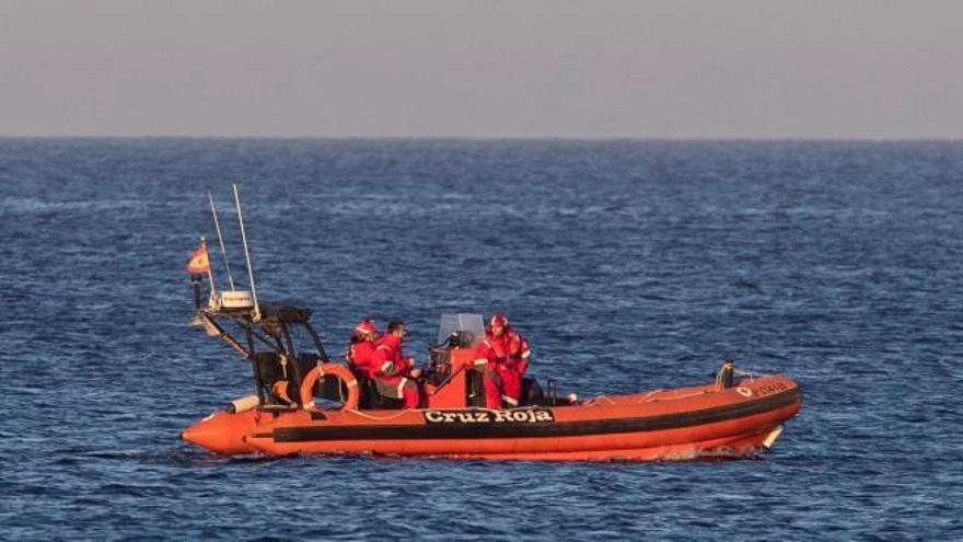 Encuentran los restos del piloto fallecido tras caer al mar cerca de La Manga