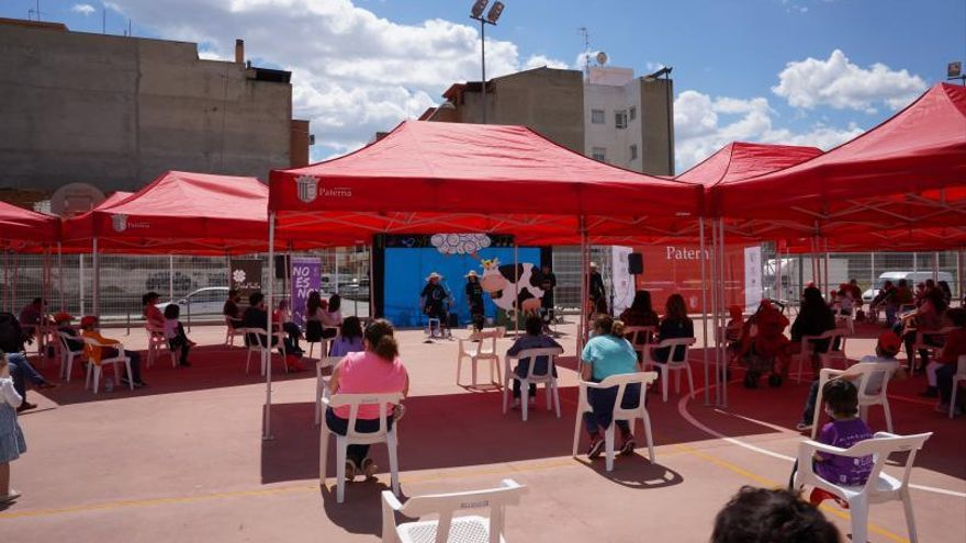 El teatro musical infantil al aire libre regresa a los barrios de Paterna