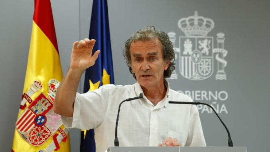 """Simón cree que Madrid deberá tomar medidas """"drásticas"""" si sigue el auge de contagios"""