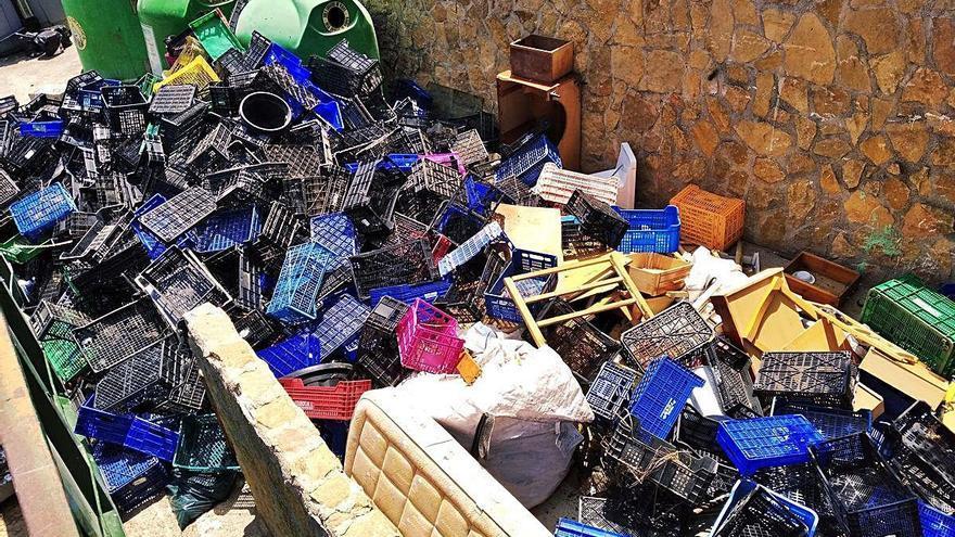 El autor de un vertido ilegal en Xàbia, obligado a retirarlo y a pagar 750 euros