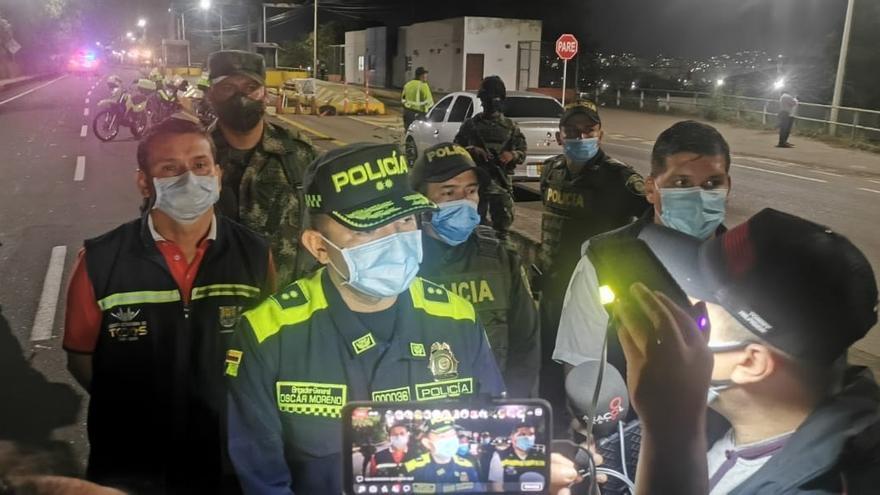 Un ataque a un puesto de la Policía deja una fallecida y cuatro heridos en Colombia