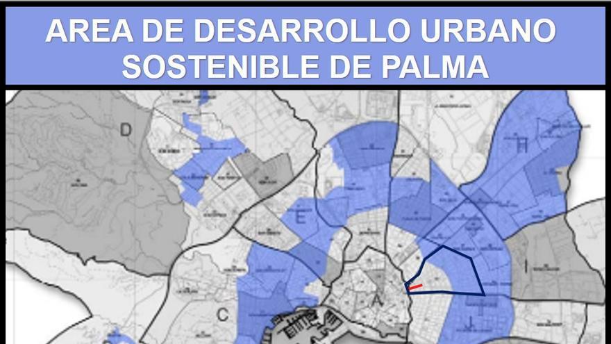 Afirman que el proyecto de Cort para Nuredduna incumple el plan estratégico de la ciudad