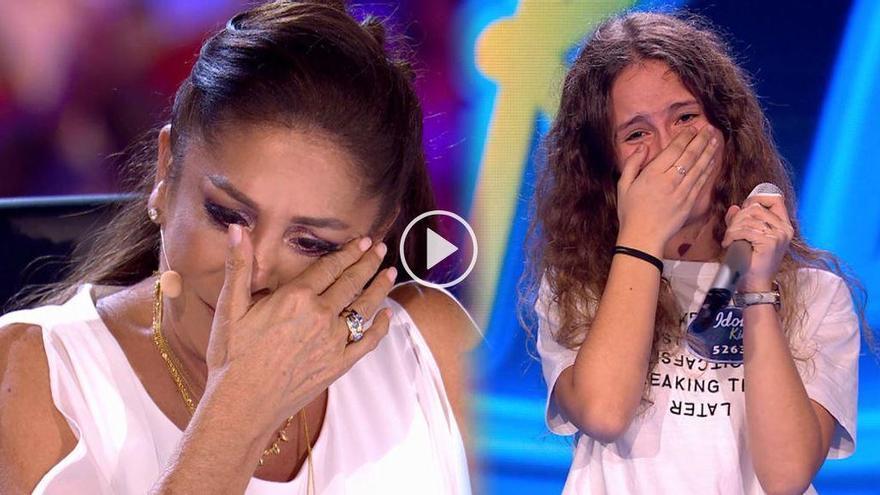 """Laura, la lloretenca que va emocionar Isabel Pantoja: """"Ets del millor que he escoltat mai"""""""