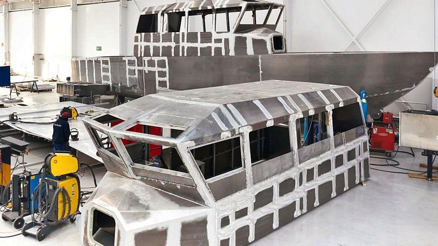 La viguesa Ucalsa construye cuatro patrulleras para la Armada de Nigeria