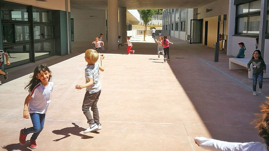 Así es el nuevo centro del Liceo Francés de Palma en Sa Teulera