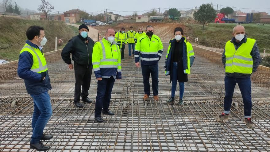 El nuevo puente en Domez de Alba será una realidad a comienzos de 2021