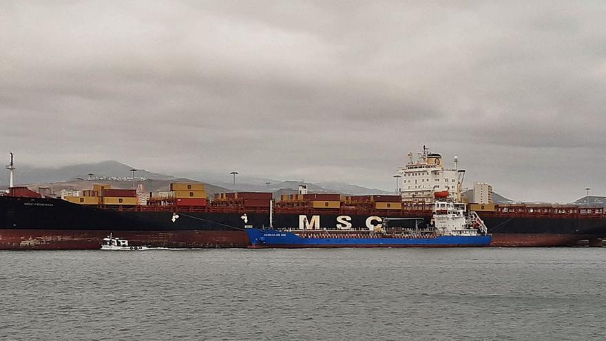 Un MSC en el Santa Catalina