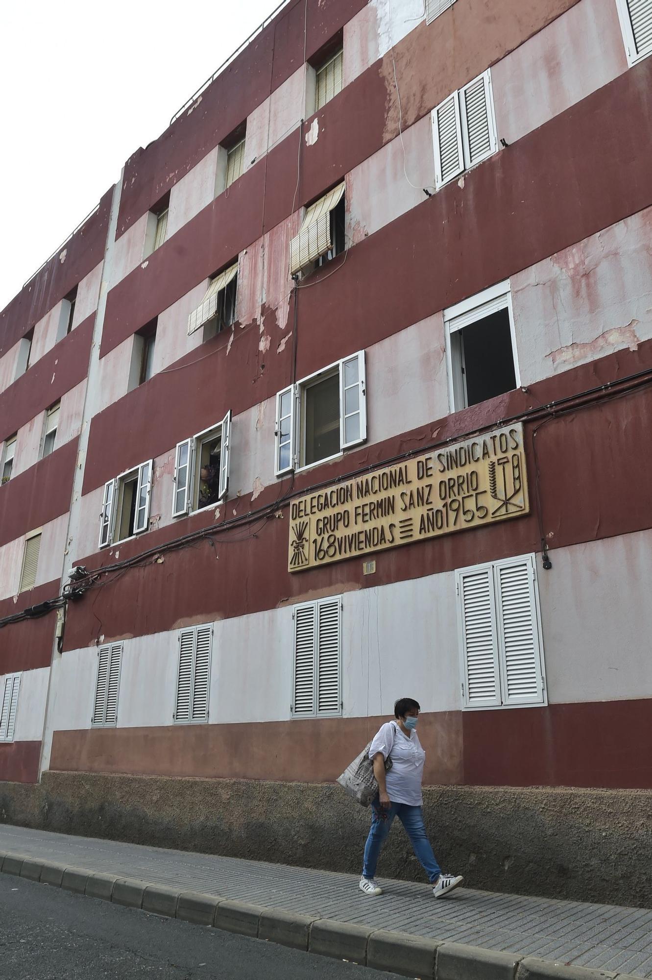 Viviendas del grupo Fermín Sanz-Orrio en La Isleta