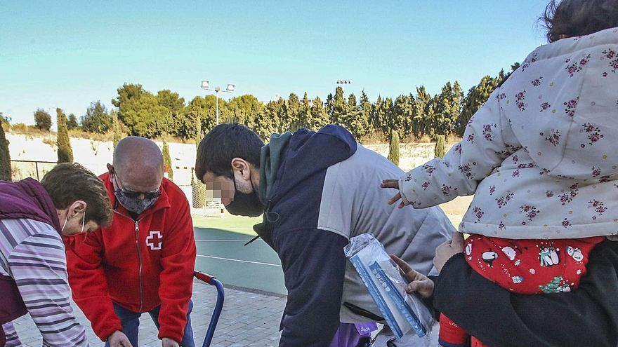 Más de 120.000 personas comen en la provincia de Alicante gracias a la ayuda de las entidades sociales