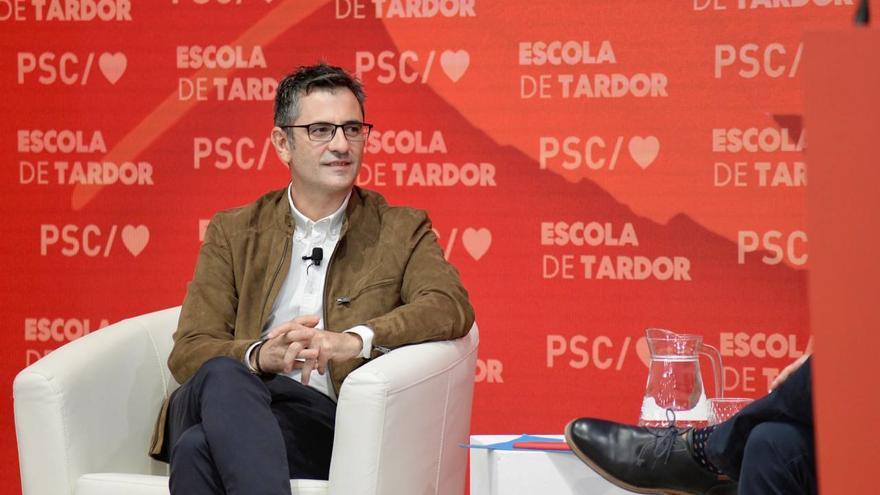 """Bolaños diu que el govern espanyol s'està """"arremangant"""" per fer de Catalunya un lloc """"més habitable"""""""