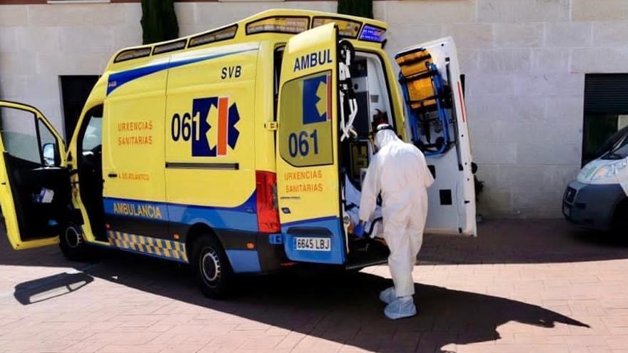 """Alertan de la """"deficiente"""" desinfección de ambulancias pese a los contagios confirmados"""