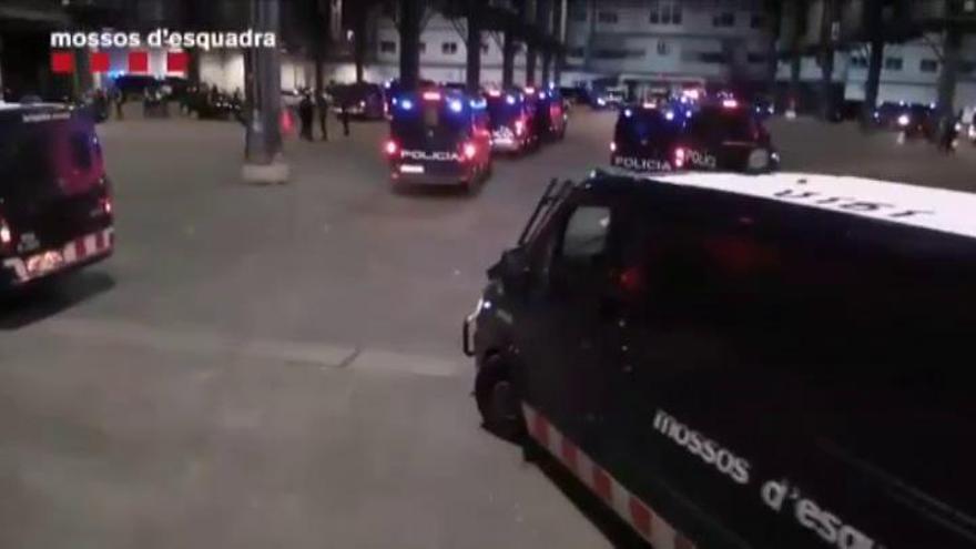 Nueva macrooperación contra pisos de la droga del centro de Barcelona