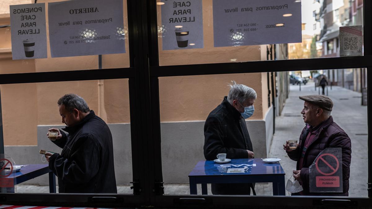 Las terrazas regresan a Zamora pese al frío