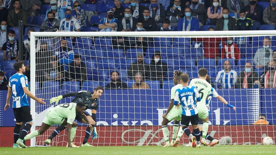 Diego López permet a l'Espanyol salvar un punt davant l'Athletic