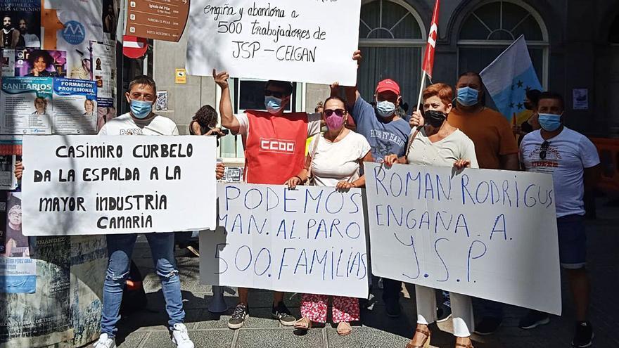 Decepción entre los trabajadores tras el 'no' del Parlamento al rescate de JSP
