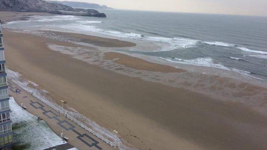 Asturias, espejismo de costa blanca